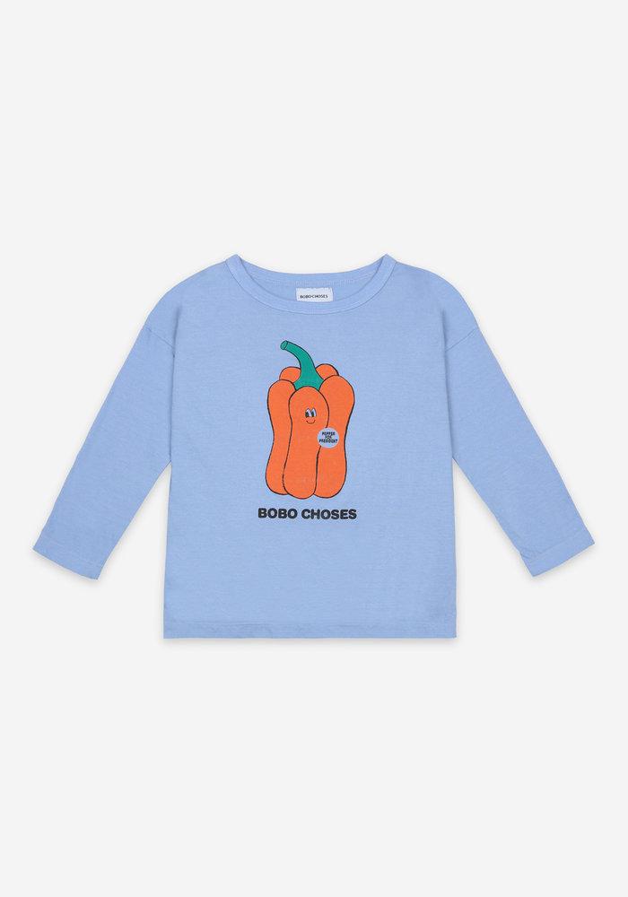 Bobo Choses Vote for Pepper Long Sleeve T-Shirt