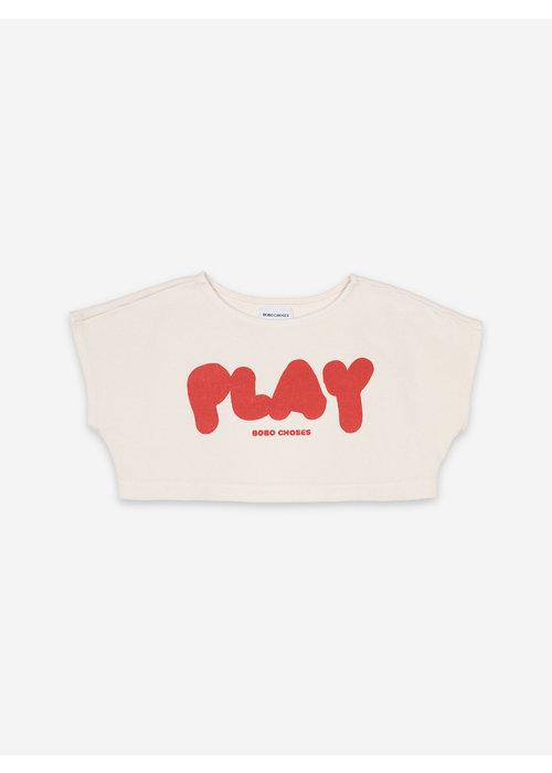 Bobo Choses Bobo Choses Play Cropped Sweatshirt