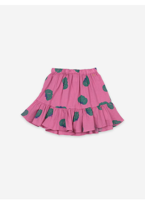 Bobo Choses Bobo Choses Tomatoes All Over Ruffle Mini Skirt