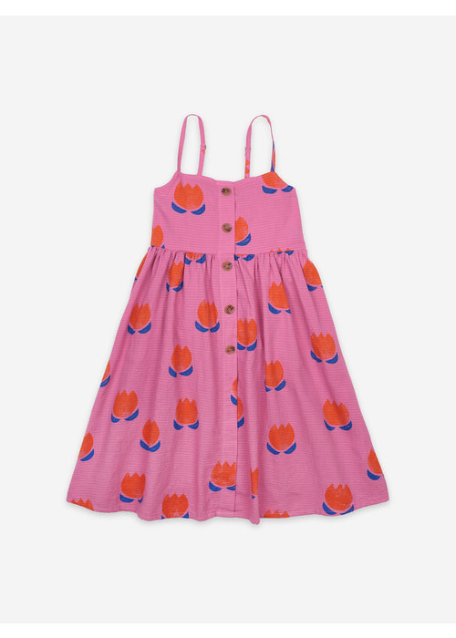 Bobo Choses Bobo Choses Chocolate Flowers All Over Woven Dress