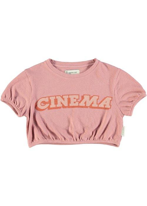 PiuPiuChick PiuPiuChick Girl T-Shirt Ballon Vintage Pink