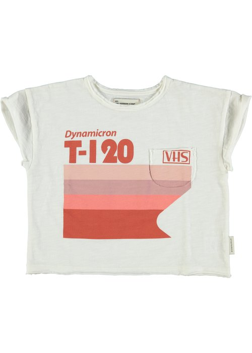 PiuPiuChick PiuPiuChick T-Shirt Off White Multicolor Print