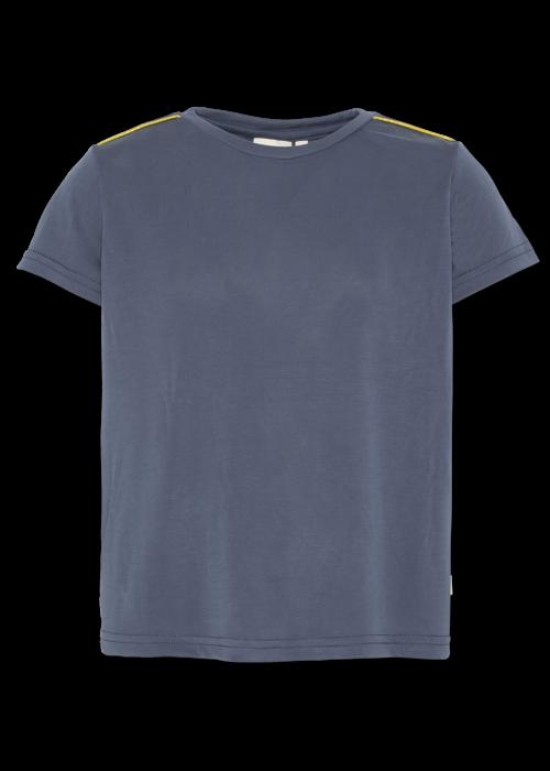 AO76 AO76 T-shirt c-neck Pique Washed Blue