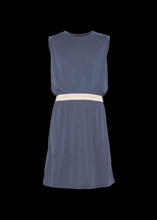 AO76 AO76 c-neck Pique Dress Washed Blue