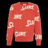 AO76 AO76 c-neck Sweater Surf Red