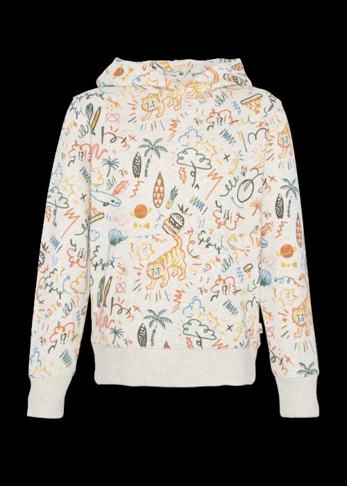AO76 AO76 Hoodie Sweater AOP Oyster