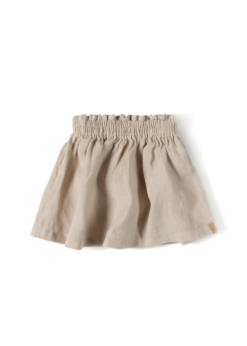 Nixnut Nixnut Lin Skirt Sand