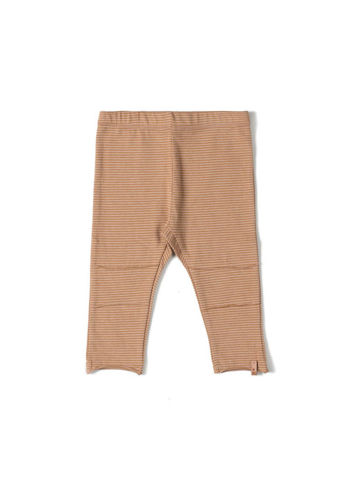 Nixnut Nixnut Tight Legging Stripe Nude/ Caramel