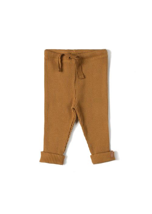 Nixnut Nixnut Rib Legging Caramel