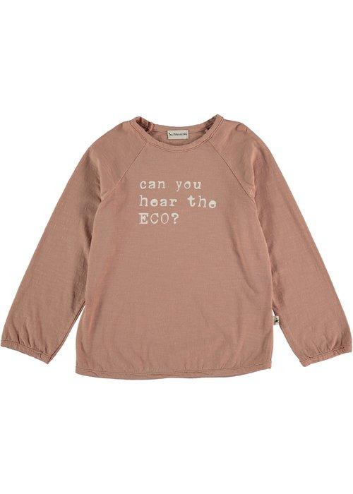 My Little Cozmo My Little Cozmo Jace Organic Flame Kids T-Shirt Terra Cotta