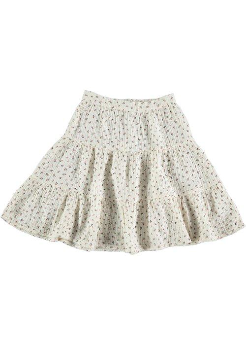 My Little Cozmo My Little Cozmo Sophia Organic Liberty Kids Skirt Ivory