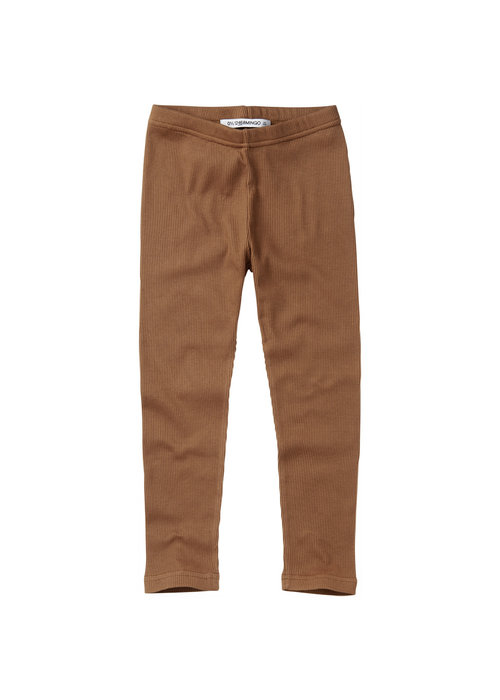 Mingo Mingo Legging Warm Earth Rib