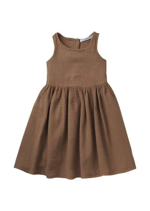 Mingo Mingo Dress Sleeveless Warm Earth Muslin