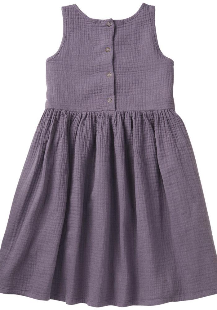 Mingo Dress Sleeveless Lavender Muslin