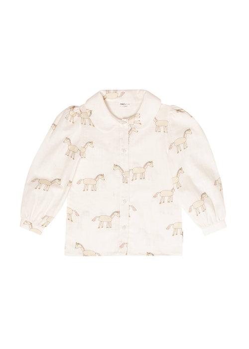 Maed for Mini Maed for Mini Unusual Unicorn Blouse