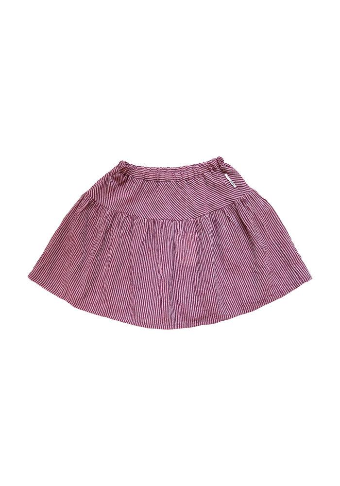 Maed for Mini Stripy Spoonbill Short Skirt