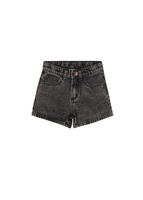 Maed for Mini Maed for Mini Black Bull Denim Shorts