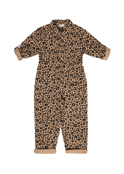Maed for Mini Maed for Mini Caramel Leopard Jumpsuit