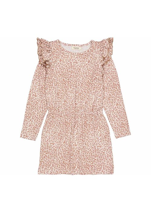 MarMar MarMar Doillon Leopard Dress Rose Brown Leo
