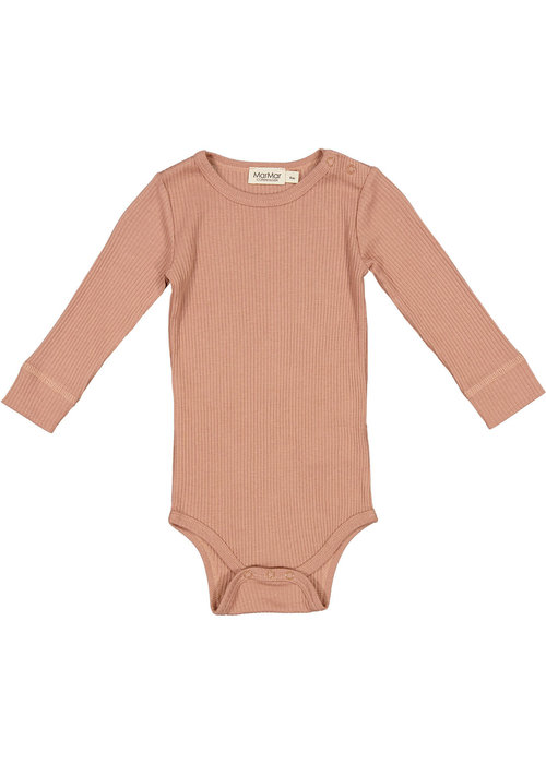 MarMar MarMar Plain Body LS Rose Brown
