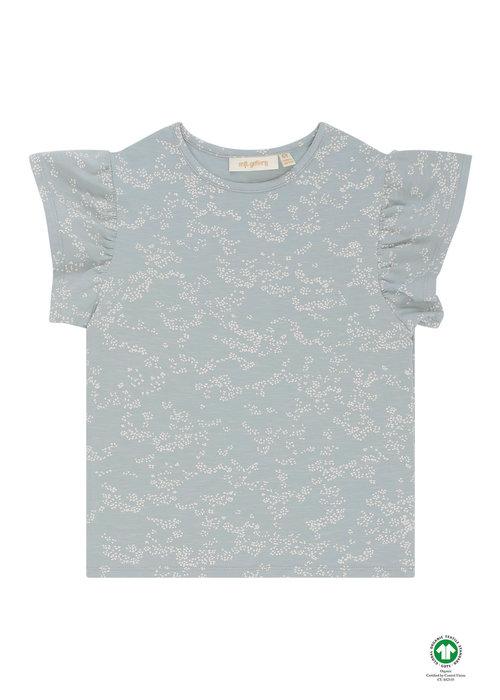 Soft Gallery Soft Gallery Hilde T-Shirt Abyss AOP Flowerdust