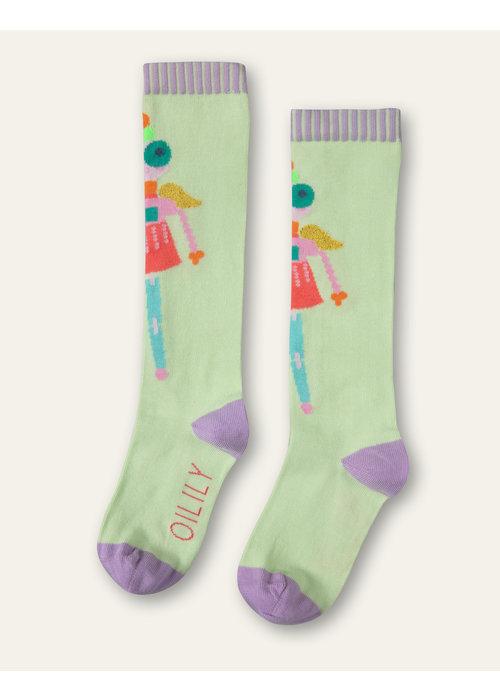 Oilily Oilily Mafalda Socks Light Green