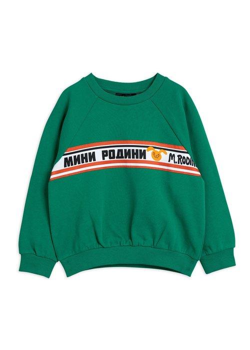 Mini Rodini Mini Rodini Moscow Sweatshirt Green