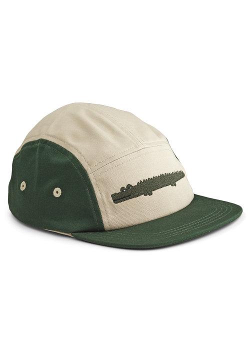 Liewood Liewood Rory Cap Crocodile Garden Green Mix