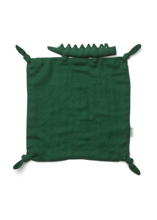 Liewood Liewood Agnete Cuddle Cloth Crocodile Garden Green