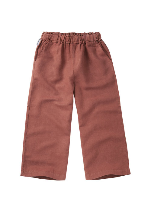 Mingo Mingo Linen Wide Pants Sienna Rose