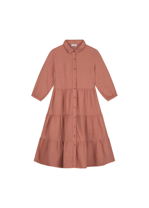 Daily Brat Daily Brat Ella Dress Summer Cinnamon