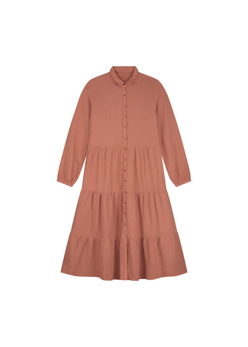 Daily Brat Daily Brat Ella MOM Dress Summer Cinnamon