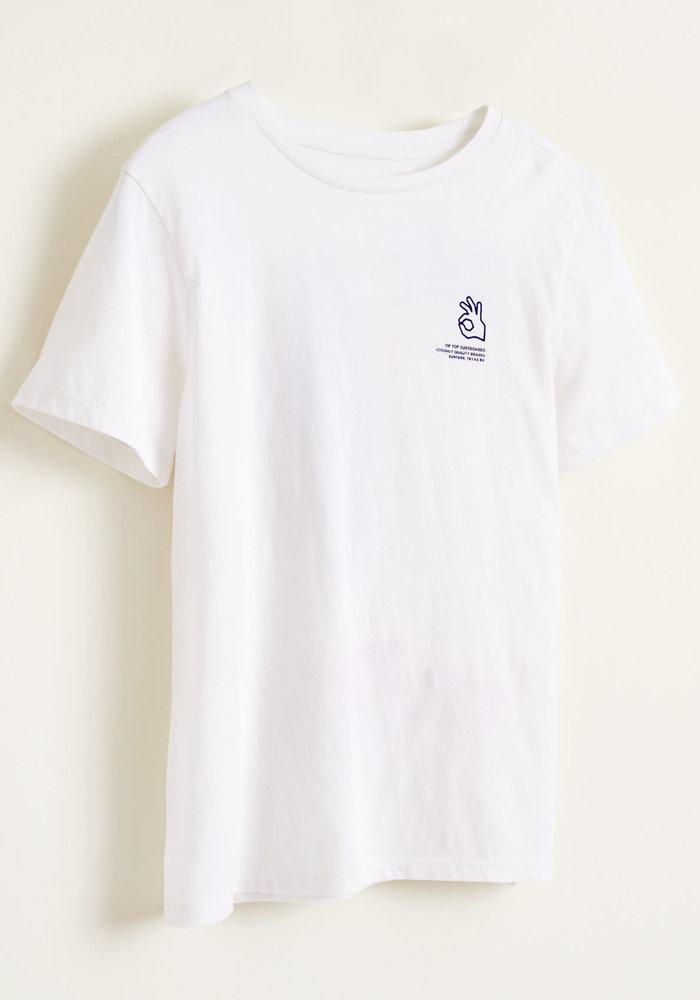 Bellerose T-Shirt Kenny Vintage White
