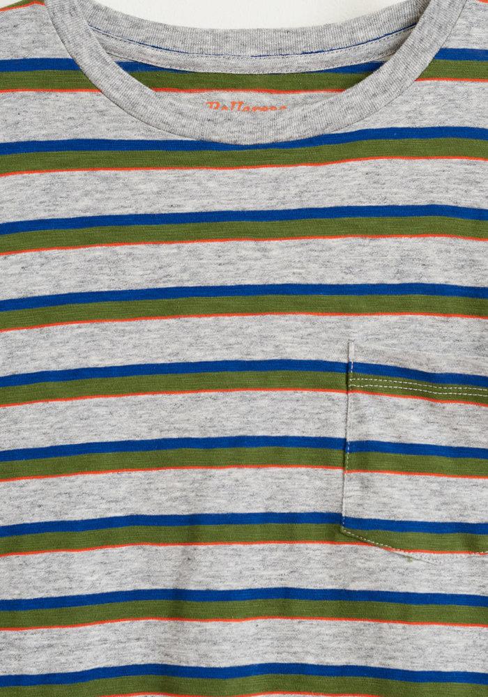 Bellerose T-Shirt Aldo Stripe B