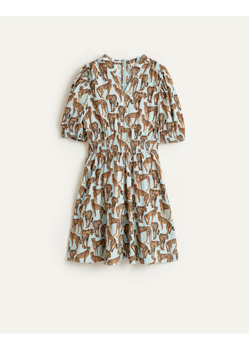 Bellerose Bellerose Girls Dress Pinko Combo