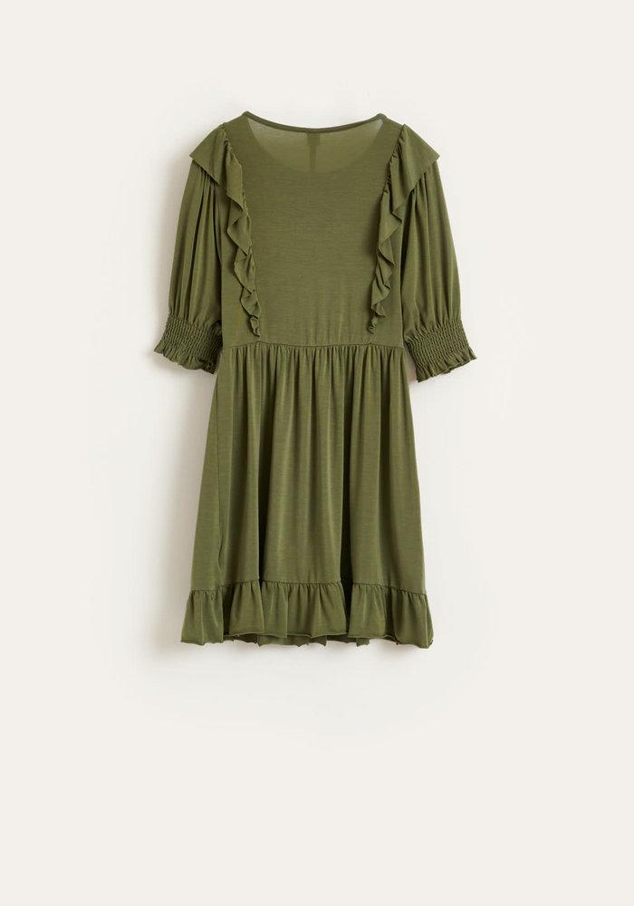 Bellerose Girls Dress Miu Army