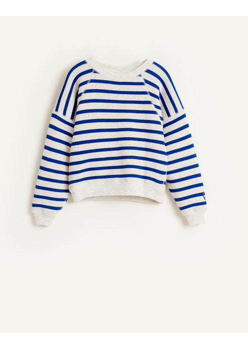 Bellerose Bellerose Girls Sweatshirt Fade Stripe