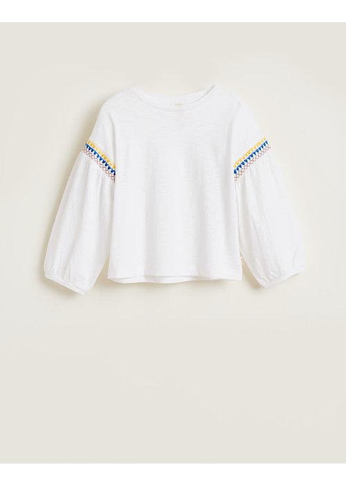 Bellerose Bellerose Girls T-Shirt Minix Vintage White