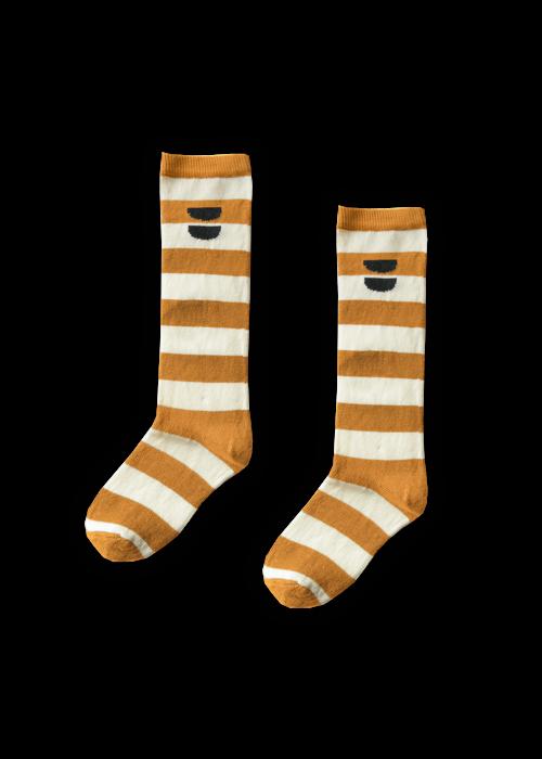 Sproet & Sprout Sproet & Sprout High Socks Stripe Desert