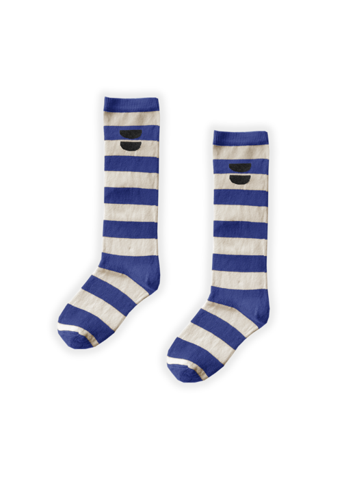 Sproet & Sprout Sproet & Sprout High Socks Cobalt Blue