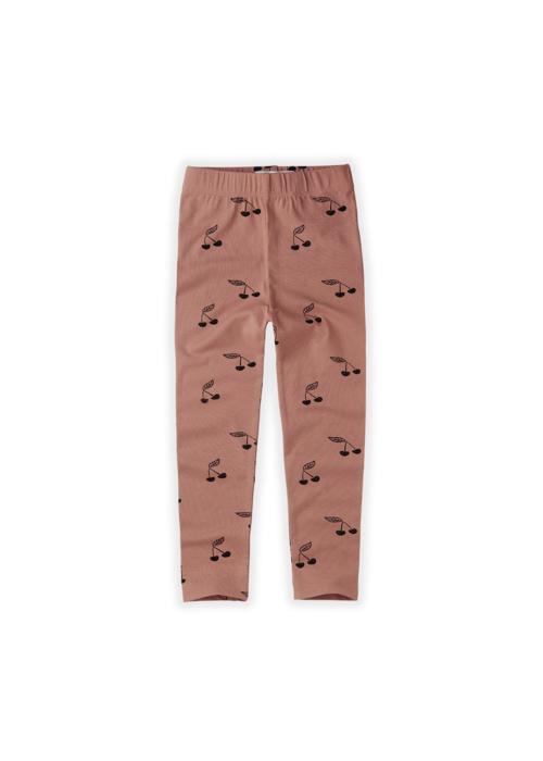 Sproet & Sprout Sproet & Sprout Legging Print Cherry Rose