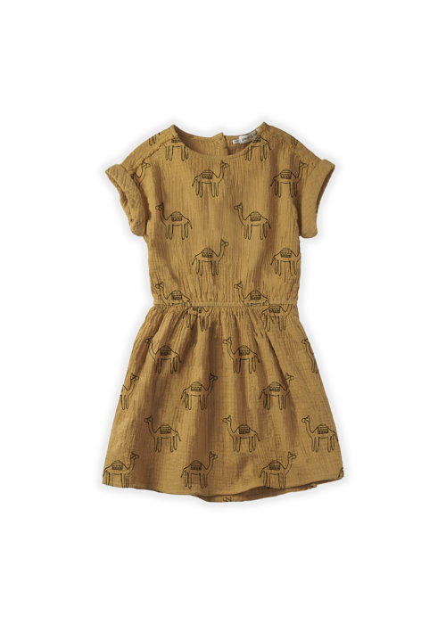 Sproet & Sprout Sproet & Sprout Dress Camel Print Desert