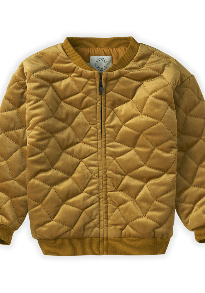 Sproet & Sprout Quilted Jacket Desert