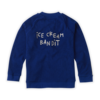 Sproet & Sprout Sproet & Sprout Track Jacket Icecream Bandit Cobalt Blue