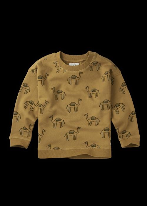 Sproet & Sprout Sproet & Sprout Sweatshirt Print Camel