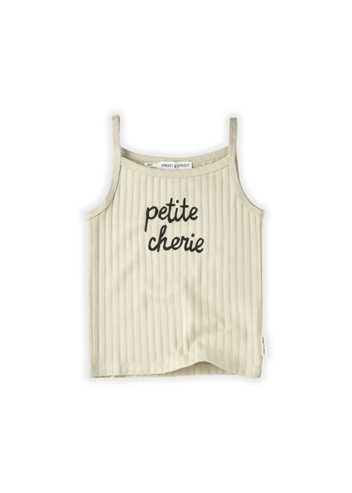 Sproet & Sprout Sproet & Sprout Tanktop Rib Petite Cherie