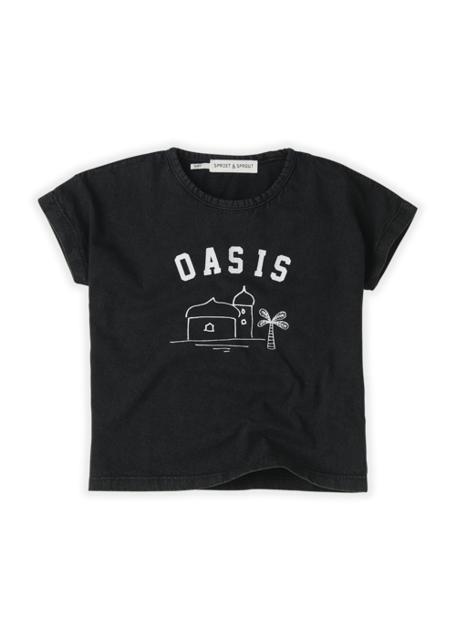 Sproet & Sprout Sproet & Sprout T-shirt Oasis Asphalt