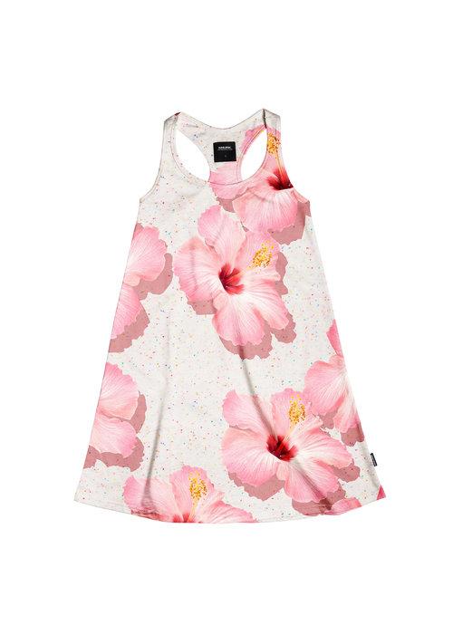 SNURK Snurk Pink Hawaii Tank Dress Kids