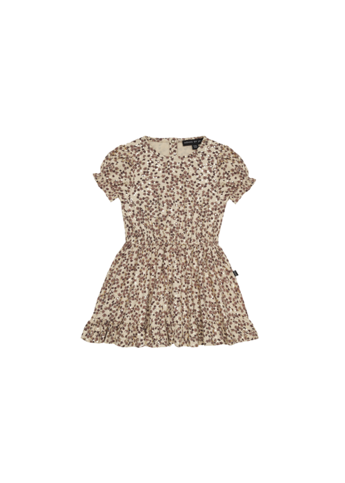 House of Jamie House of Jamie Frill Dress Golden Rose Dawn Blossom