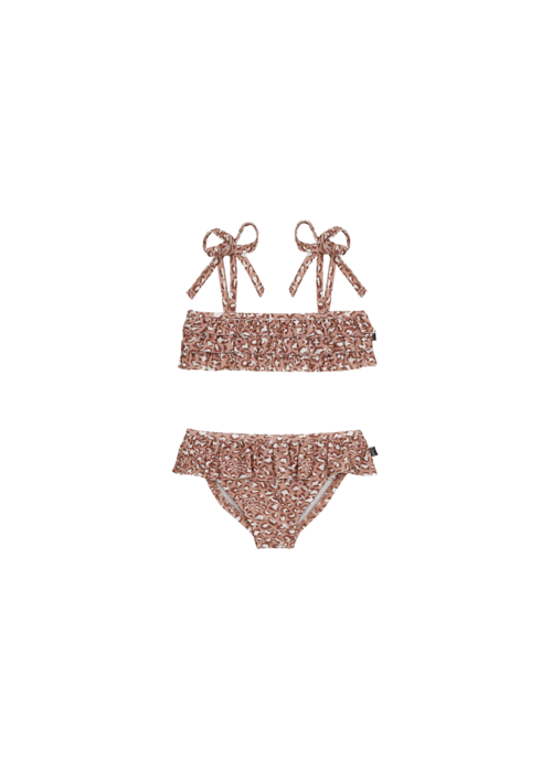 House of Jamie House of Jamie Fringe Bikini Rose Dawn Leopard